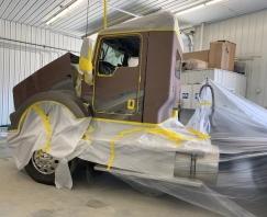 taping k truck