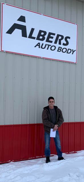 Auto Body Sign
